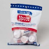 72 Units of Necco Jr Original Wafers 4 Oz Peg Bag