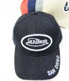 36 Units of San Diego Base Ball Cap - Baseball Caps & Snap Backs