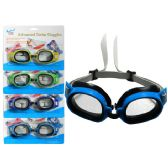 108 Units of Swim Goggles 6x1.75""