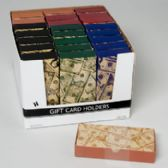 48 Units of Dollar Icon Print Gift Card/money Holder Box - Card Holders and Address Books
