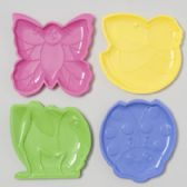 48 Units of Plastic Candy Dish 4asst Styles - Home Accessories