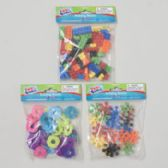 72 Units of Building Blocks Plastic 3ast Styles