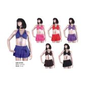 72 Units of 3PC SWIMSUIT ON HANGER - Womens Swimwear