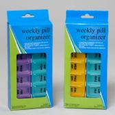 72 Units of Pill Organizer Weekly Am/pm Hba Window Box - Pill Boxes and Accesories