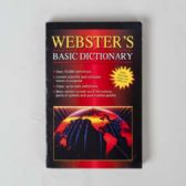 60 Units of Dictionary Webster's Basic Paperback Over 55k Definitions - Dictionary