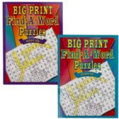 24 Units of Puzzle Book Big Print Find-a-word 96 Pg In Pdq - Dictionary & Educational Books