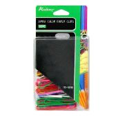72 Units of 50PC. JUMBO COLOR PAPER CLIPS