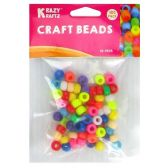 72 Units of 100PC CRAFT BEADS