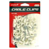 72 Units of 56PC 12MM CABLE CLIPS