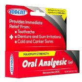 72 Units of .42 OZ IODENT ORAL ANALGESIC MAX STRENGTH GEL 0.42OZ - Medical Supply