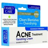 72 Units of 1 OZ ACNE CREAM TREATMENT 1.0OZ MAX STRENTH - Medical Supply