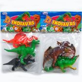 "72 Units of 3PC 5"" TOY DINOSAURS - Animals & Reptiles"