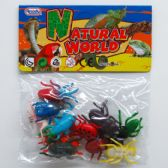 144 Units of 12 Piece Plastic Insects - Animals & Reptiles