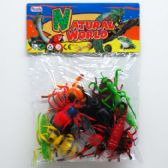 36 Units of 12 Piece Assorted Insects - Animals & Reptiles