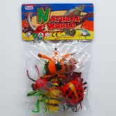 48 Units of 6 Piece Assorted Toy Insects - Animals & Reptiles