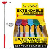 50 Units of EXTENDABLE BACK SCRATCHER 20 INCH WITH DISPLAY BOX