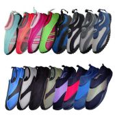 48 Units of WATER SHOE DISPLAY 48 PAIRS ASSORTED STYLES + SIZES - Womens Aqua Shoes