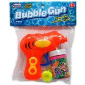 "96 Units of 4.25"" W/U BUBBLE GUN IN POLY BAG W/HEADER, 3 ASST"