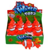 "72 Units of 6"" PULL STRING WATER TOYS (FISH) IN DISPLAY - Water Guns"