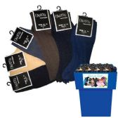144 Units of MENS DRESS SOCKS 144PC ASSORTED COLORS