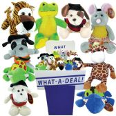 36 Units of STUFFED ANIMALS 72 PC ASSORTED