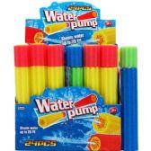 "96 Units of 12""Lx2""D WATER PUMP IN 24PC DISPLAY BOX - Water Guns"