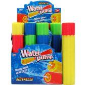"""96 Units of 12""""L x 2.25""""D WATER PUMP IN 12PC DISPLAY BOX - Water Guns"""