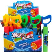"144 Units of 12""L x 1.5""D WATER PUMP W/HANDLE IN 24PC DISPLAY BOX - Water Guns"