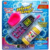 """48 Units of 2PC 5.5""""BUBBLE CELLPHONES & ACCSS IN BLISTERED CARD ASST."""