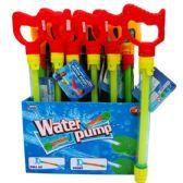 "192 Units of 14""Lx 1.25""D WATER PUMP W/HANDLE IN DISPLAY - Water Guns"