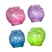 72 Units of PIGGY BANK 8.5 INCH ASSORTED COLORS - Coin Holders/Banks/Counter