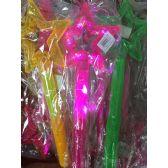 72 Units of Light Up Flashing Star Wand - Light Up Toys