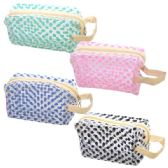 48 Units of Cosmetic Bag Assorted Colors Big