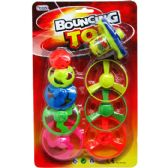 60 Units of 8 Piece Saucers & Tops w.Wind-Up Shooter - Boy Play Sets