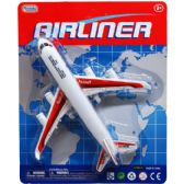 96 Units of 8 Inch Airliner Toy Plane