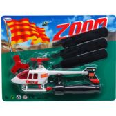 "72 Units of 8.5"" ZOOM HELICOPTER IN BLISTER CARD"