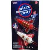 96 Units of 2 Piece Mini Space Shuttles