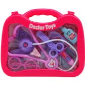 24 Units of GIRLS DOCTOR PLAY SET IN WINDOW BRIEFCASE - Girls Toys
