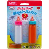 144 Units of 2 Piece Magic Toy Baby Bottle