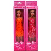 "72 Units of 11"" SOFIA DOLL IN WINDOW BOX - Dolls"