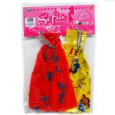 "48 Units of 2 Piece ""Sofia"" Doll Outfits"