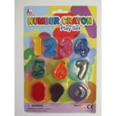 72 Units of Number Crayons - Chalk,Chalkboards,Crayons