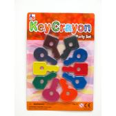 72 Units of Key Crayon Party Set - Chalk,Chalkboards,Crayons