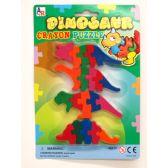 72 Units of DINO CRAYON SET - Chalk,Chalkboards,Crayons