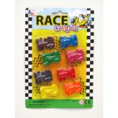 72 Units of 8 Piece Race Car Crayons - Chalk,Chalkboards,Crayons