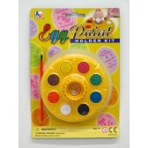 72 Units of EGG HOLDER PAINT SET - EASTER