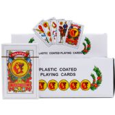 144 Units of SPANISH PLAYING CARDS IN COLOR CARD BOARD DISPLAY - Playing Cards, Dice & Poker