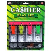 48 Units of PLAYING MONEY CASH DRAWER W/COINS IN BLISTERED CARD