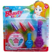 96 Units of MAKE-UP/NAIL POLISH & GLITTER BEAUTY SET IN BLISTERED CARD - Girls Toys