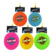 144 Units of FLYING DISK 8 INCH ASSORTED COLORS